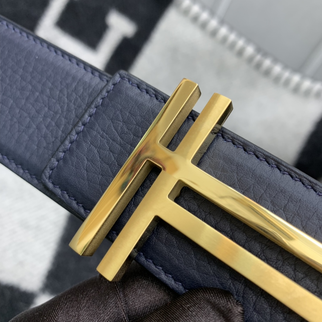 H双面皮带 简单大方,新款时尚又特别的双H扣 不挑年龄,大气奢华 商务休闲都非常合适 百搭(送男士礼物 首选哦)