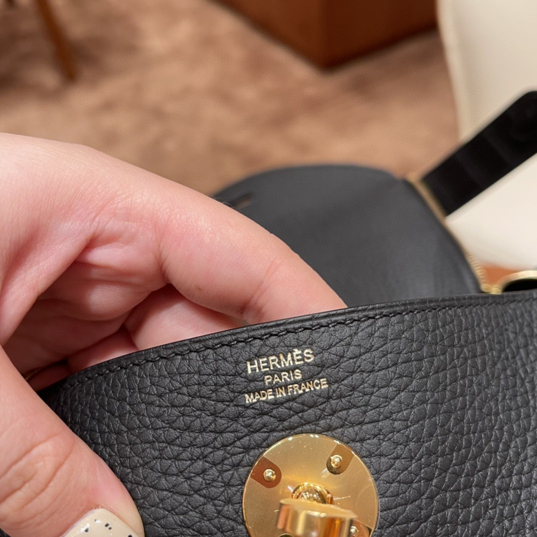 HERMES 爱马仕 Lindy Touch 26cm 金刚百搭大主色 休闲优雅 89黑色 金扣 最百搭的颜色